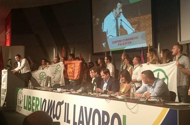 Foto dal profilo Facebook della Lega Nord