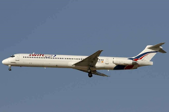 Un MD-83 della Swiftair analogo a quello ceduto in leasing all'Air Algérie caduto in Mali, tra il Burkina Faso e l'Algeria