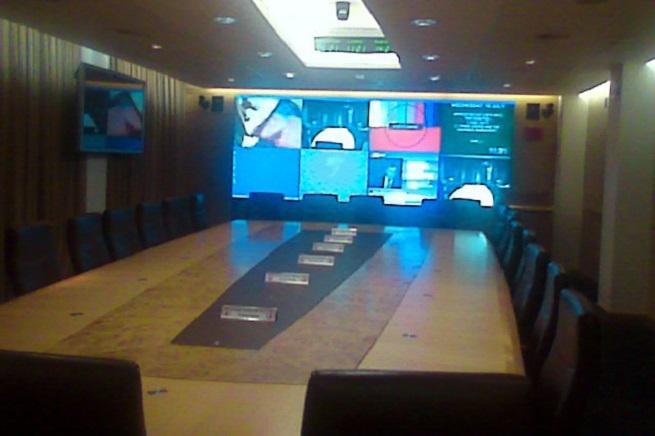 L'unica immagine disponibile del COBRA (Cabinet Office Briefing Room A) britannico, che è in stretto contatto con il  sistema nazionale dei servizi di informazione e sicurezza (foto Wikipedia)