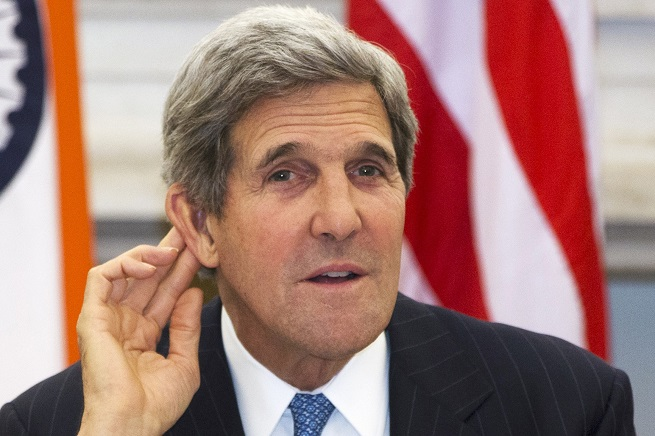"""Secondo """"Der Spiegel"""", in edicola domani, John Kerry è stato intercettato dal Mossad mentre cercava di capirci qualcosa della situazione in Medio Oriente..."""