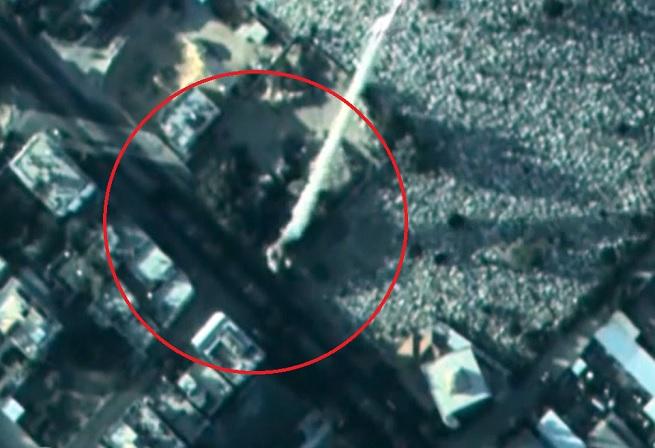 Lancio di missili da zona abitata da civili (foto da video, fonte IDF)