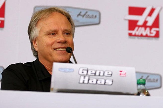 Gene Hass, patron della Haas Formula e Team Principal dell'Haas F1 Team