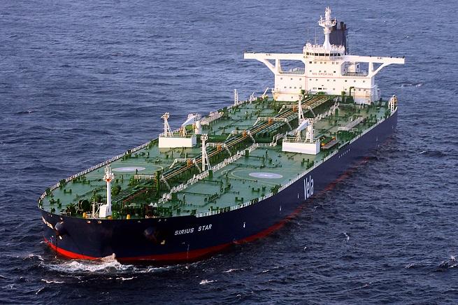 La Sirius Star, della compagnia di navigazione Vela International Marine Limited, è una super-petroliera sequestrata dai pirati somali il 17 novembre 2008. Fu rilasciata il 9 gennaio dell'anno successivo, dopo il pagamento di un riscatto di 3 milioni di dollari (foto Wikipedia)