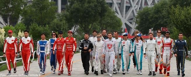 FIA Formula E Thursday Press Conference Beijing E-Prix, China Friday 12 September 2014. Photo: Malcolm Griffiths /LAT/ Formula E ref: Digital Image F80P0019