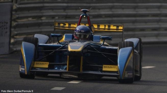Nicola Prost, primo poleman della Formula E nell'ePrix di Cina