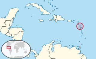 L'isola di Montserrat è nei Caraibi Orientali