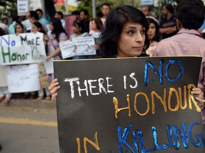 There is non honor in killing