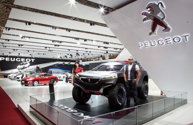La Peugeot 2008 DKR al Salone di Parigi 2014