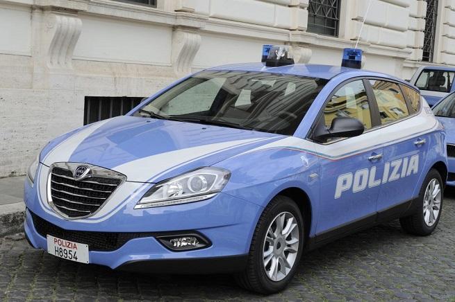 """La nuova livrea delle auto della Polizia di Stato dotate del """"sistema Mercurio"""""""