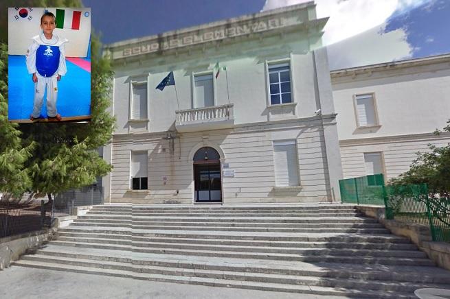 """La scuola primaria """"Falcone-Borsellino"""" di Santa Croce Camerina, frequentata dal piccolo Andrea (foto tratta da Google Map)"""