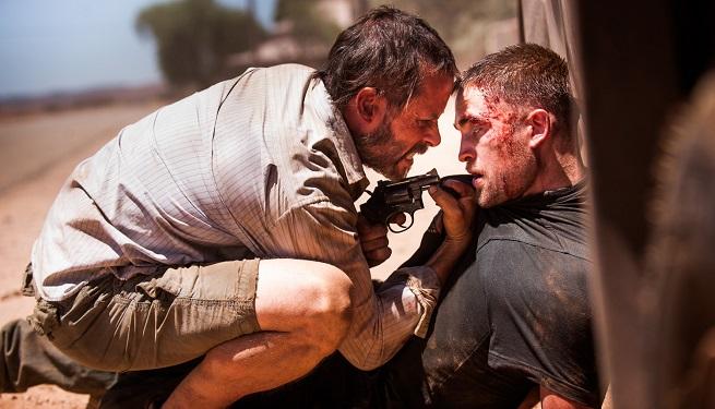 "Guy Pearce e Robert Pattinson in ""The Rover"""