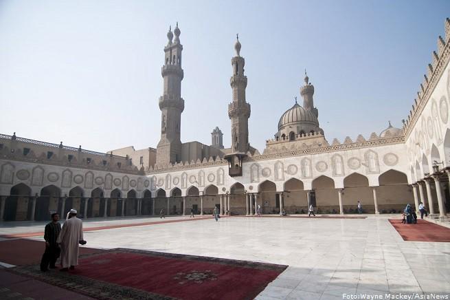 L'Università islamica di alAzhar al Cairo