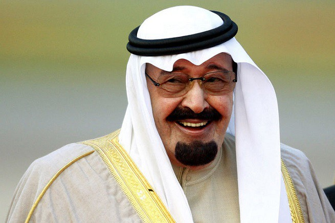 Re Abdullah ibn Abdilazīz dell'Arabia Saudita, (dichiarato) morto oggi