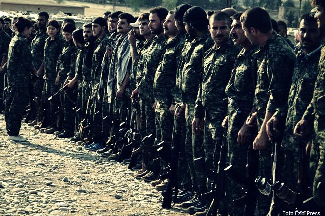 Unità Combattenti della Resistenza Yazida nel Nord dell'Iraq