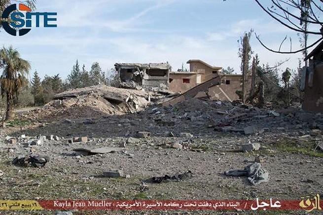 L'edificio in cui era custodita Kayla Jean Mueller, secondo i jihadisti dello Stato Islamico