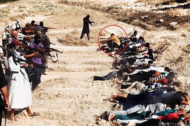 All'orda barbarica dei jihadisti solo un giovane resiste eticamente: vuole guardare in faccia i propri assassini. Per questo ragazzo non possiamo cedere all'auto-censura