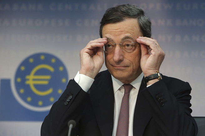 Mario Draghi ECB Interest Rate Announcement
