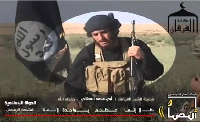 Abu Mohammad al-Adnani, sedicente portavoce del sedicente 'Stato Islamico'