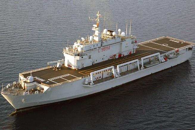 """La """"San Giusto"""" è la più moderna delle tre LPD della Classe San Giorgio in servizio (insieme alla 'madre' San Giorgio e alla San Marco)"""