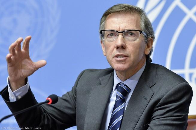 Bernardino León Gross, inviato dell'Onu in Libia. Perora colloqui tra il governo legittimo e quello insurrezionale islamista sostenuto dai Fratelli Musulmani. Un'assurdità