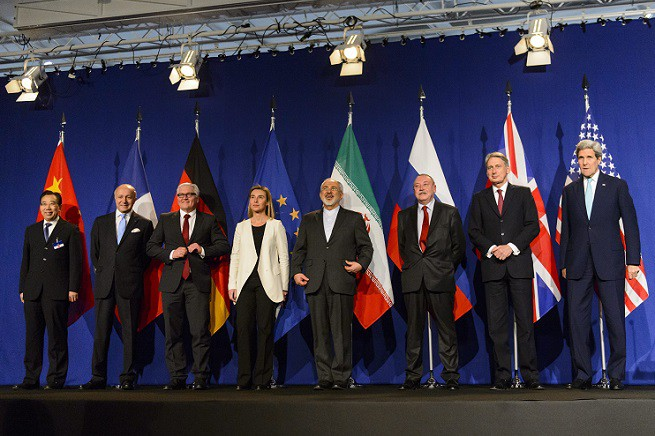 Nuclear Iran Talks in Lausanne, Switzerland