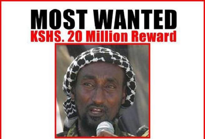 Mohamed Mohamud, alias Dulyadin alias Gamadheere, considerato la mente dell'attacco al campus universitario di Garissa