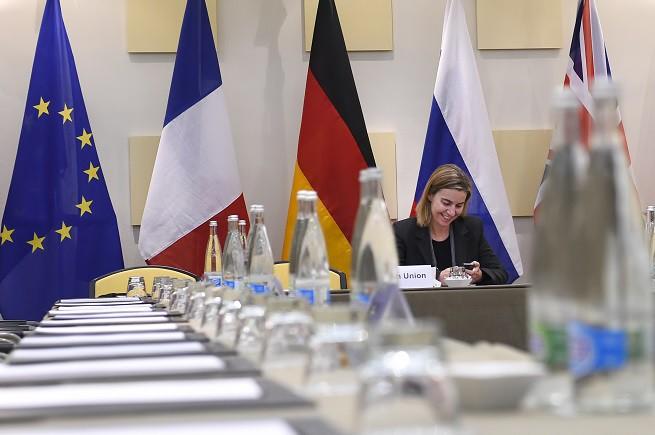 IRAN TALKS Mogherini