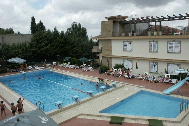 L'ex Hotel Belvedere di Corleone, ora trasformato in centro di accoglienza per immigrati (foto di repertorio)