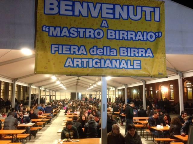 """""""Mastro Birraio"""", Fiera della Birra artigianale a Santa Maria di Piave, Treviso (foto dal profilo Facebook della kermesse trevigiana)"""