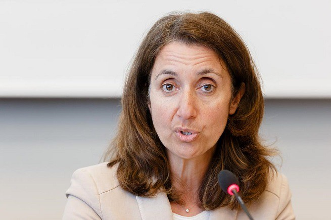 La ministra tedesca all'Immigrazione, Aydan Özoğuz, deputata della SPD di origine turca