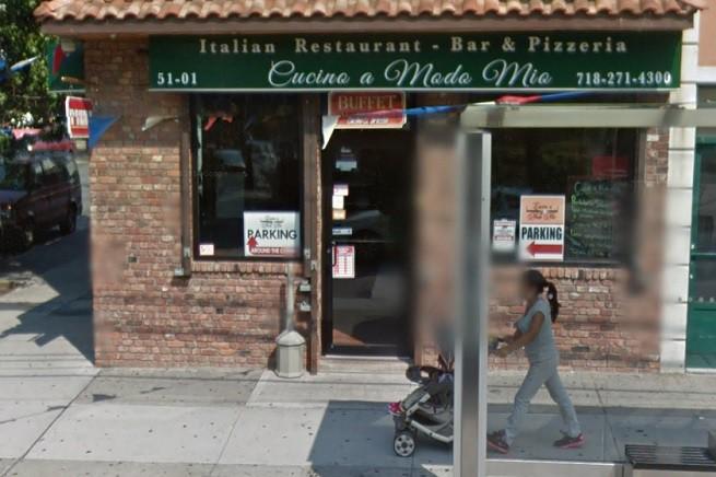 Il ristorante della famiglia Gigliotti 'Cucino a modo mio'. Nei siti specializzati risulta già 'Chiuso' (foto tratta da Google Map)