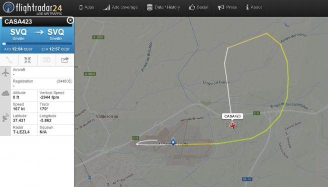 20150509-crash-casa423-siviglia-flightradar