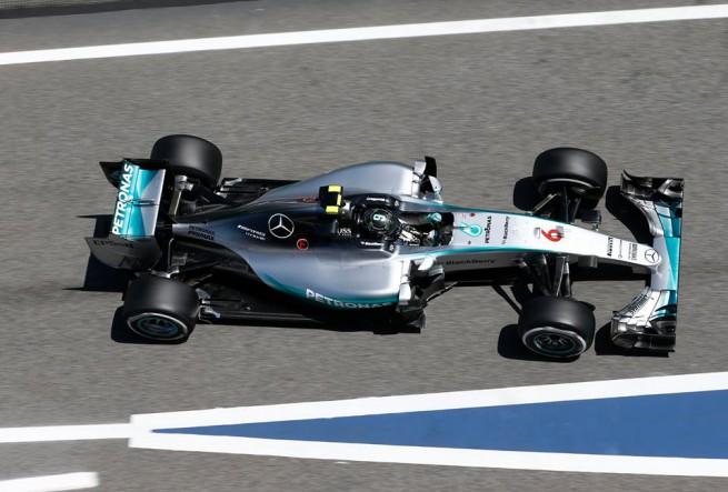 Nico Rosberg è stato il più veloce nelle ultime libere del GP di Spagna di  Formula 1, precedendo Sebastian Vettel e il compagno di squadra Lewis Hamilton (Foto Mercedes AMG F1)