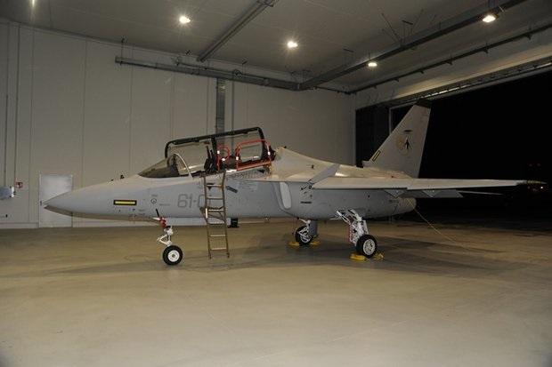 L'Alenia-Aermacchi T-346 Master, addestratore avanzato di ultima generazione, utilizzato dal 231° Gruppo Addestramento Volo di Galatina (foto Aeronautica Militare Italiana)
