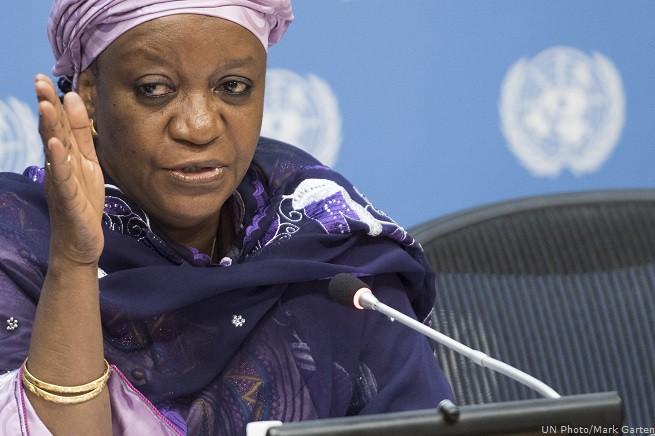 Zainab Bangura, Inviato Speciale del Segretario Generale delle Nazioni Unite sulle Violenze Sessuali nei Conflitti (UNTV, INTERNATIONAL MEDIA, WEBCAST)
