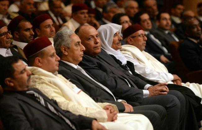 La riunione dei leader delle tribù libiche al Cairo (foto AsiaNews)