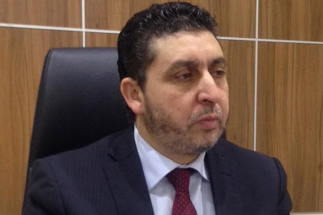 """Khalifa al-Ghweil, 'premier' del sedicente 'governo di Tripoli', in realtà un movimento insurrezionale di matrice islamica, sostenuto dai 'Fratelli Musulmani' egiziani, nel frattempo dichiarati fuorilegge dal presidente al-Sisi (photo credit """"The Indipendent"""")"""
