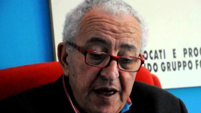 Mario Piccolino (71), l'avvocato-blogger anticamorra, molto attivo nella lotta contro le slot machines, ucciso oggi pomeriggio a Formia con un colpo di pistola in viso