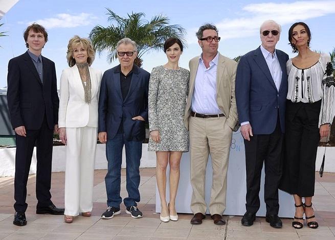 Paolo Sorrentino e il cast di Youth - La giovinezza