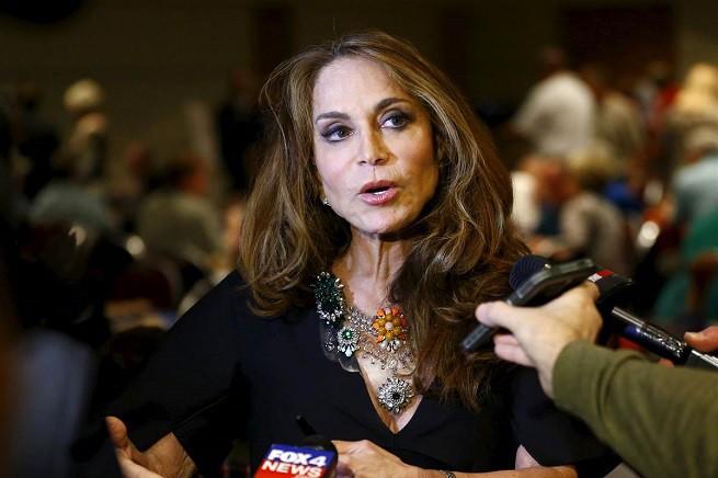 Pamela Geller, attivista anti-jihadista e presidente dell'American Freedom Defense Initiative (photo credit: NBC)