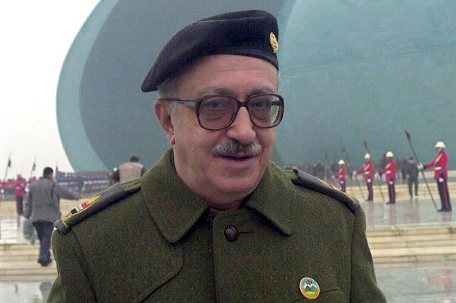 Tariq Aziz, ex ministro degli Esteri dell'Iraq di Saddam Hussein, è morto a Nassiriya (credit photo EPA)