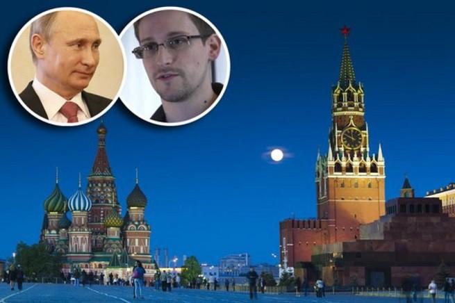 Vladimir Putin ha dato asilo a Edward Snoden non certo per questioni umanitarie. Complimenti all'Amministrazione Obama! (foto tratta da 'The Sunday Times' online)