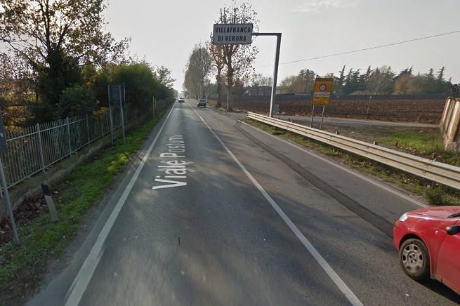 Uno degli ingressi a Villafranca Veronese (da via Postumia). Immagine tratta da Google Map