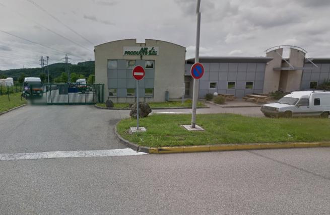 L'ingresso dell'impianto 'Air Product' a  Saint-Quentin-Fallavier, a 30 km da Lione, nel Dipartimento Rodano Alpi (immagine tratta da Google Map)