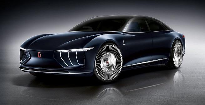 L'ultima creatura dell'Italdesign, la Gea, che prefigura i modelli del segmento più elevato dell'Audi. Sembra sia la base su cui si svilupperà la sostituta dell'Audi A8 (Foto Italdesign)
