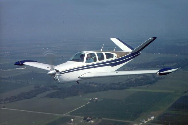 Un BeechAir Bonanza V35 come quello che ha fatto scattare sabato 4 Luglio lo 'Scramble' a Grosseto