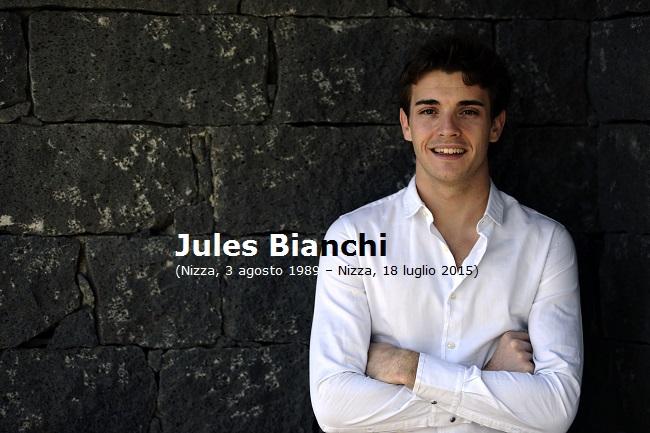 Jules Bianchi, Nizza 3 Agosto 1989 - Nizza 18 Luglio 2015 (foto Ferrari Media)