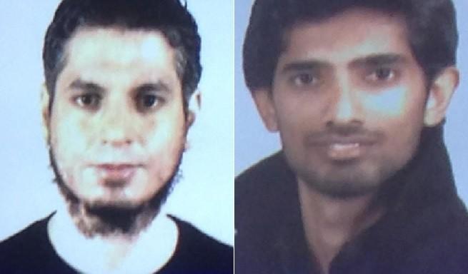Lasaad Briki (Kairouan, Tunisia, 12.02.1980) e Muhammad Waqas (Gujirat, Pakistan, 16.08.1988) i due sospetti terroristi islamici arrestati a Minerbio, nel Bresciano