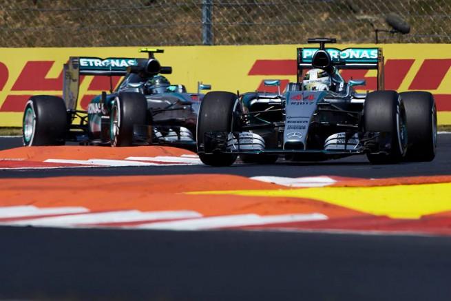 Lewis Hamilton ha conquistato la 47^ pole position della sua carriera davanti al compagno di squadra Nico Rosberg (foto Mercedes AMG F1)