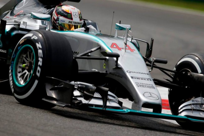Lewis Hamilton ha vinto l'86° Gran Premio d'Italia sul circuito di Monza (Foto Mercedes AMG F1)